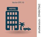 hotel vector illustration | Shutterstock .eps vector #394847062