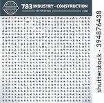 783 industry  construction ... | Shutterstock .eps vector #394876438
