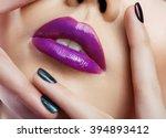 sexy lips | Shutterstock . vector #394893412