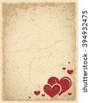 grunge valentine's background...