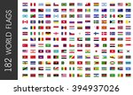 flags of world countries | Shutterstock .eps vector #394937026
