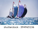 dynamic team struggle to the... | Shutterstock . vector #394965136