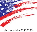 An American Grungy Flag