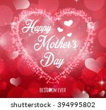 happy mother's day | Shutterstock . vector #394995802