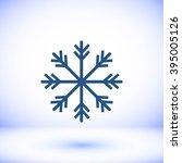 snowflake icon | Shutterstock .eps vector #395005126
