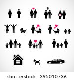 family icon set | Shutterstock . vector #395010736