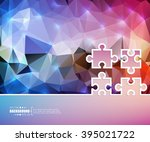 creative vector puzzle. art...