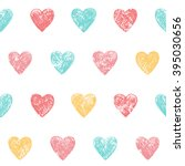 Seamless Heart Background In...