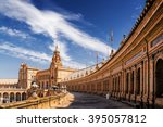 Sunny View Of Plaza De Espana...