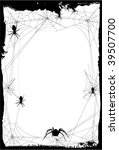 halloween background or... | Shutterstock .eps vector #39507700