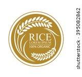 rice. vector illustration. | Shutterstock .eps vector #395082862