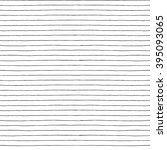 seamless vector hand drawn... | Shutterstock .eps vector #395093065