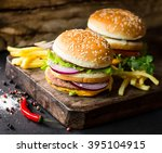 Delicious Burgers And Fries