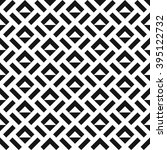 seamless geometric abstract... | Shutterstock .eps vector #395122732