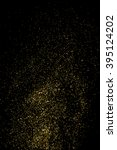 gold glitter texture on a black ... | Shutterstock .eps vector #395124202