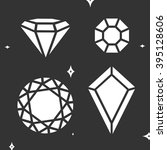 set diamond symbol vector | Shutterstock .eps vector #395128606