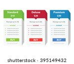 price list widget boxes with...