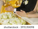 thailand traditional wedding...   Shutterstock . vector #395150098