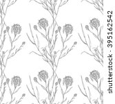 seamless  hand draw pattern... | Shutterstock .eps vector #395162542