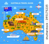 Australia Travel Guide With Map ...