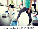 fitness  sport  aerobics and... | Shutterstock . vector #395180236