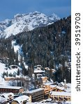 ski resort madonna di campiglio.... | Shutterstock . vector #39519703