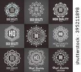 monogram design elements ...   Shutterstock .eps vector #395211898
