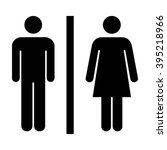 man and woman unisex icon  ... | Shutterstock .eps vector #395218966