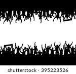 seamless wallpaper with... | Shutterstock .eps vector #395223526