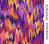 colorful smudged ikat print  ...   Shutterstock .eps vector #395292676