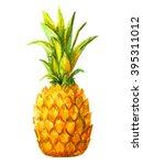 Pineapple Watercolor  Ananas...