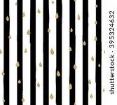 gold glittering drops seamless... | Shutterstock .eps vector #395324632