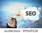 businessman hand holding dollar ... | Shutterstock . vector #395339128