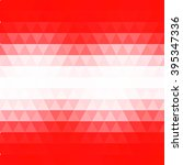 abstract geometric red and... | Shutterstock .eps vector #395347336