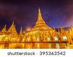 shwedagon pagoda myanmar | Shutterstock . vector #395363542