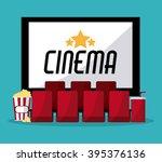 cinema icon design | Shutterstock .eps vector #395376136