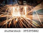 industrial welding automotive... | Shutterstock . vector #395395882