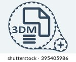 flat vector illustration. 3dm...