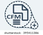 flat vector illustration. cfm...