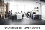 business team professional... | Shutterstock . vector #395430496