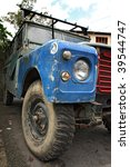 An Old Four Wheel Drive Vehicl...