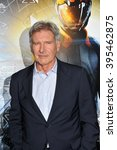 """Small photo of LOS ANGELES, CA - OCTOBER 28, 2013: Harrison Ford at the Los Angeles premiere of his movie """"Ender's Game"""" at the TCL Chinese Theatre."""
