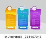 price list  hosting plans and... | Shutterstock .eps vector #395467048