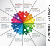 Colorful Circle Diagram With...
