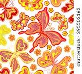 beautiful background seamless... | Shutterstock .eps vector #395503162