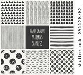 Hand Drawn Seamless Patterns...