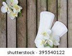 everyday female pantyliners... | Shutterstock . vector #395540122