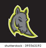 donkey mascot | Shutterstock .eps vector #395563192