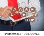 doctor. | Shutterstock . vector #395708968