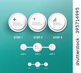 modern infographics timeline... | Shutterstock .eps vector #395714995